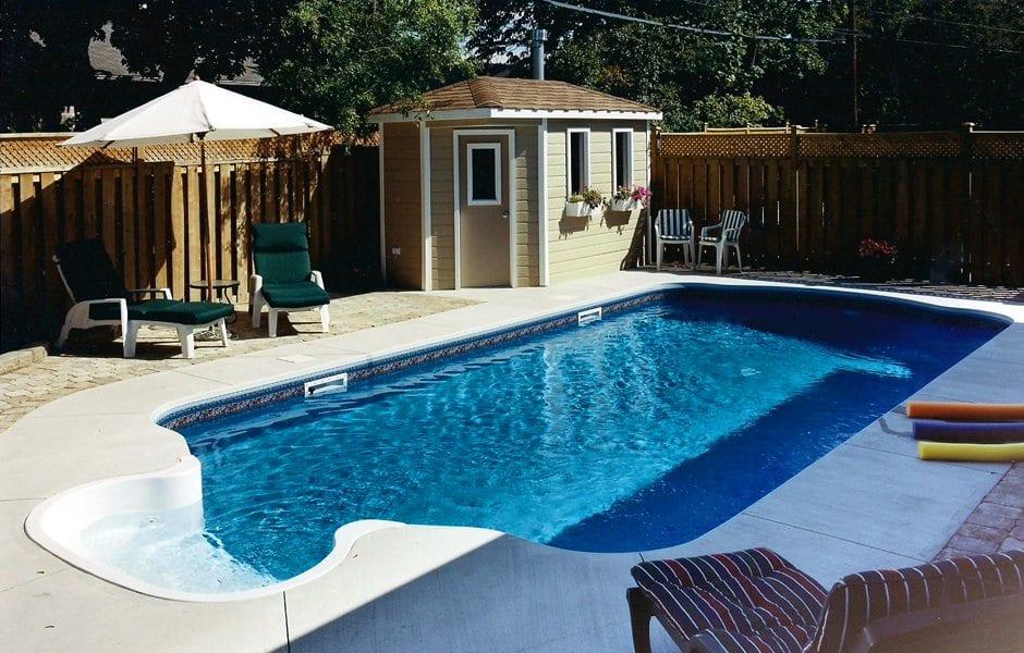 Backyard pool design pool and landscape design seaway for Pool design help